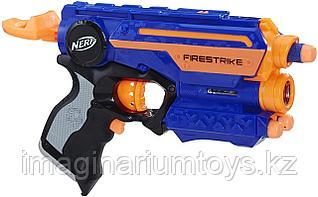 Бластер Nerf Elite Firestrike Нерф с лазерным прицелом