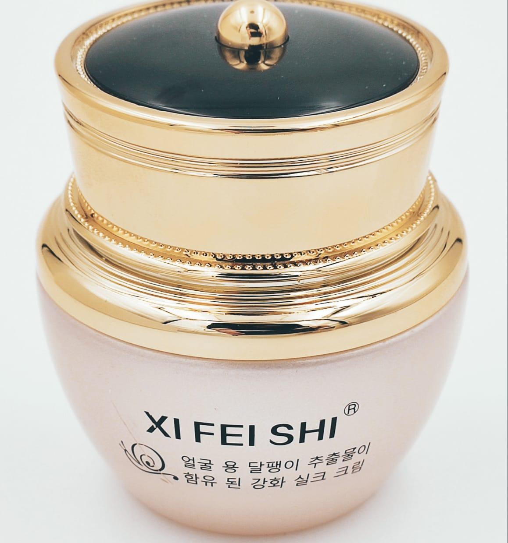 Подтягивающий крем XI FEI SHI с муцином улитки