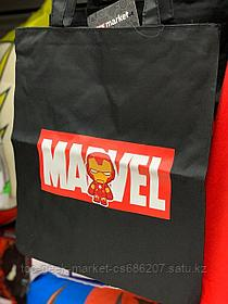 "Шоппер ""MARVEL: Железный человек"" (черный)"