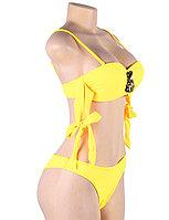 Купальник с завязками Rhinestone Yellow (S, M, L, XL), фото 8