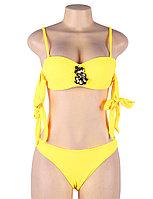 Купальник с завязками Rhinestone Yellow (S, M, L, XL), фото 9