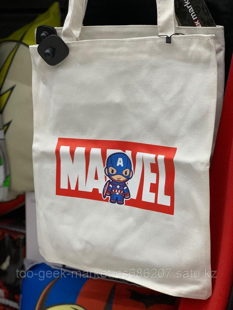 "Шоппер ""MARVEL: Капитан Америка"" (белый)"