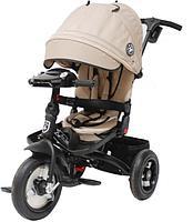 "Детский велосипед трехколесный MINI TRIKE JEANS (BEIGE, 12""/10"")"