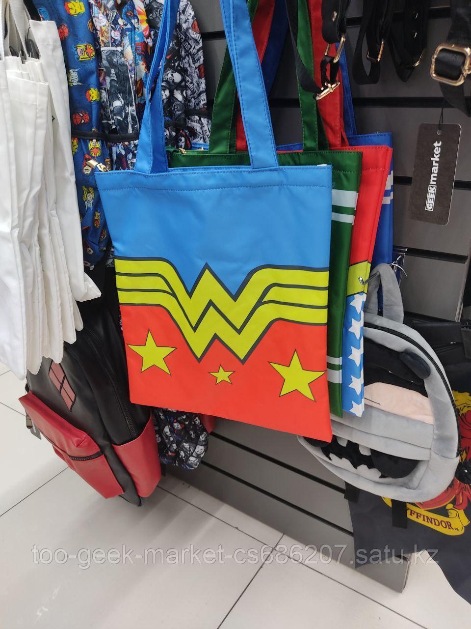 """Шоппер """"DC: Чудо-Женщина"""" (вар.2)"""