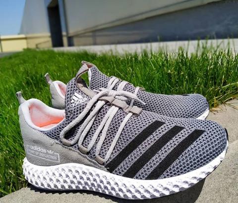 Кроссовки мужские Adidas серые 40-44 размер