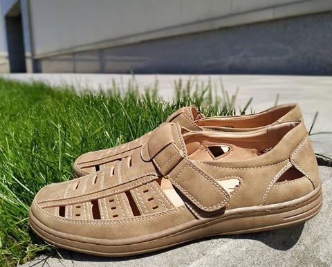 Мужские сандалии бежевые 40-45 размер