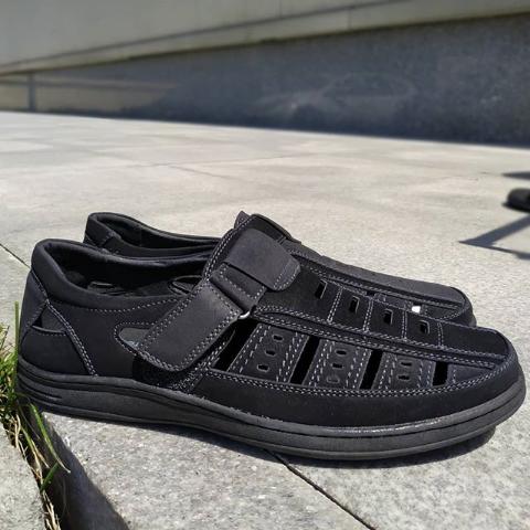 Мужские сандалии черные 40-45 размер