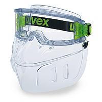 Комплект щиток с очками uvex ультравижн