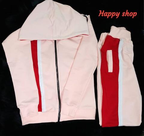 Женский розовый спортивный костюм размер 42-48