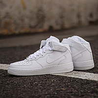 Кроссовки Nike Air Force 1 Mid '07 White 315123-111 размер: 44