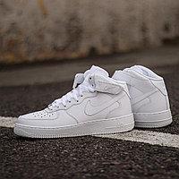 Кроссовки Nike Air Force 1 Mid '07 White 315123-111 размер: 44,5