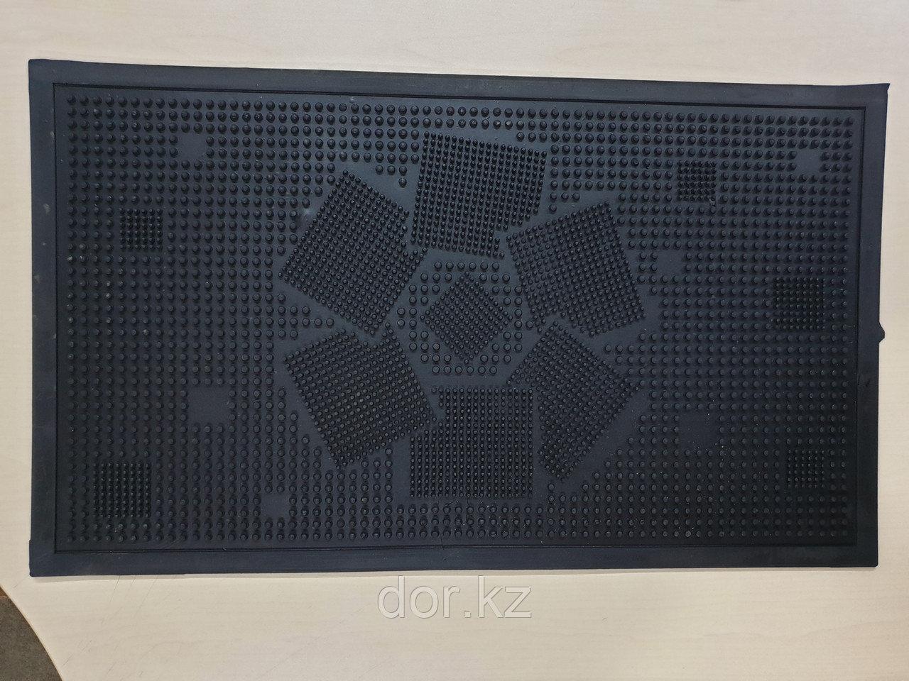 Коврик резиновый придверный 700х410х10мм по ГОСТу РК