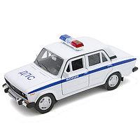 Машинка Lada 2106 Милиция ДПС М 1:34-39, Welly