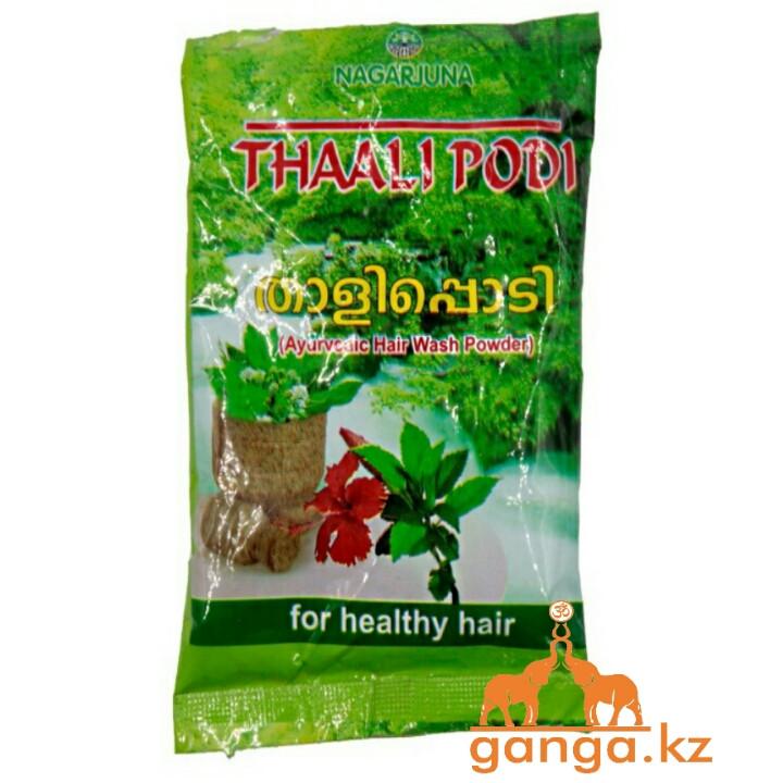 Травяной шампунь для волос Тали Поди (Thaali Podi Nagarjuna), 50 грамм