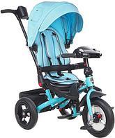 "Детский велосипед трехколесный MINI TRIKE JEANS голубой (Cyan, 12""/10"")"