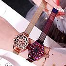 "Часы с крутящимся циферблатом ""Flower Diamond Rotation Watch, фото 6"