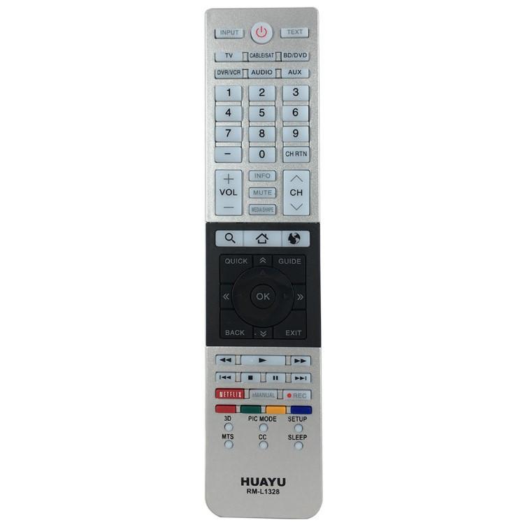 Универсальный пульт ДУ телевизоров Toshiba HUAYU RM-L1328 (белый)