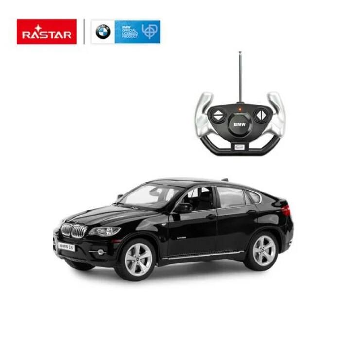 Радиоуправляемые машинки Rastar BMW X6