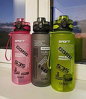 Бутылка спортивная для воды 1 л, фото 1