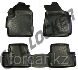 3D Коврики в салон Daewoo Matiz (98-) (полимерные) L.Locker, фото 2