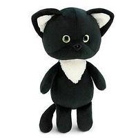 Мягкая игрушка ' Чёрный котёнок', 20 см