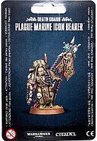 Death Guard: Plague Marine Icon Bearer (Гвардия Смерти: Чумной Десантник-Знаменосец)