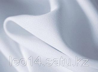 Ткань Прима Микрофибра ЛЕТО110 Премиум Плюс, Термотрансфер, 168 см, белый аист