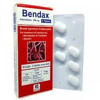Bendax (Бендакс) – таблетки от глистов, 6 штук