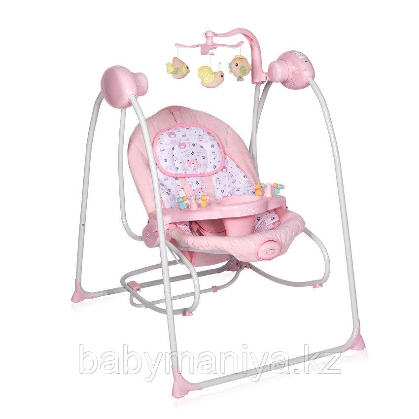 Электрокачели-шезлонг Lorelli Tango Розовый / Pink