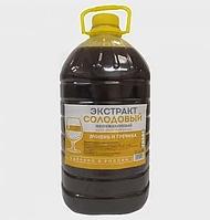 """Жидкий неохмеленный солодовый экстракт """"Ячмень и гречиха"""", 3,9 кг"""