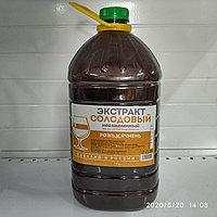 """Жидкий неохмеленный солодовый экстракт """"Рожь и ячмень"""", 3,9 кг"""