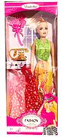 Кукла с платьями и телефоном набор (в коробке) С-403, 8810
