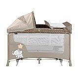 Кровать-манеж Lorelli San Remo 2 Plus Rocker Бежевый / Beige Elephant 2071, фото 2
