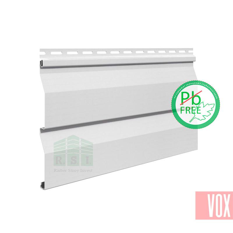 Сайдинг виниловый VOX VSV-03 Vilo (белый)