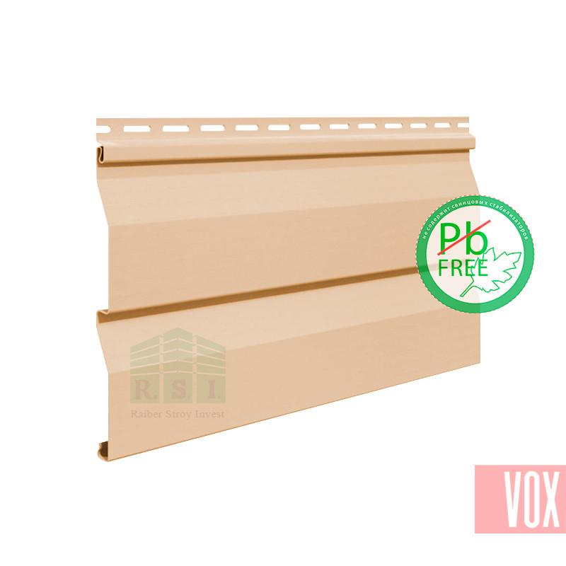 Сайдинг виниловый VOX VSV-03 Vilo (бежевый)