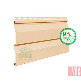 Сайдинг виниловый VOX VSV-03 Vilo (кремовый)