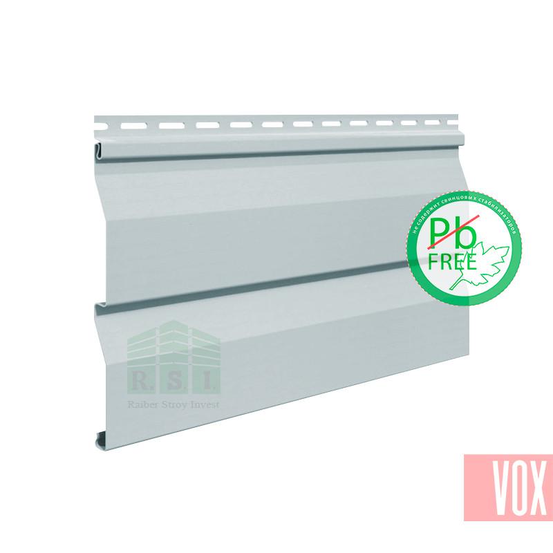 Сайдинг виниловый VOX VSV-03 Vilo (светло-серый)