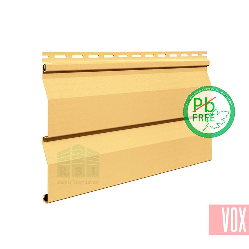 Сайдинг виниловый VOX VSV-03 Vilo (песочный)