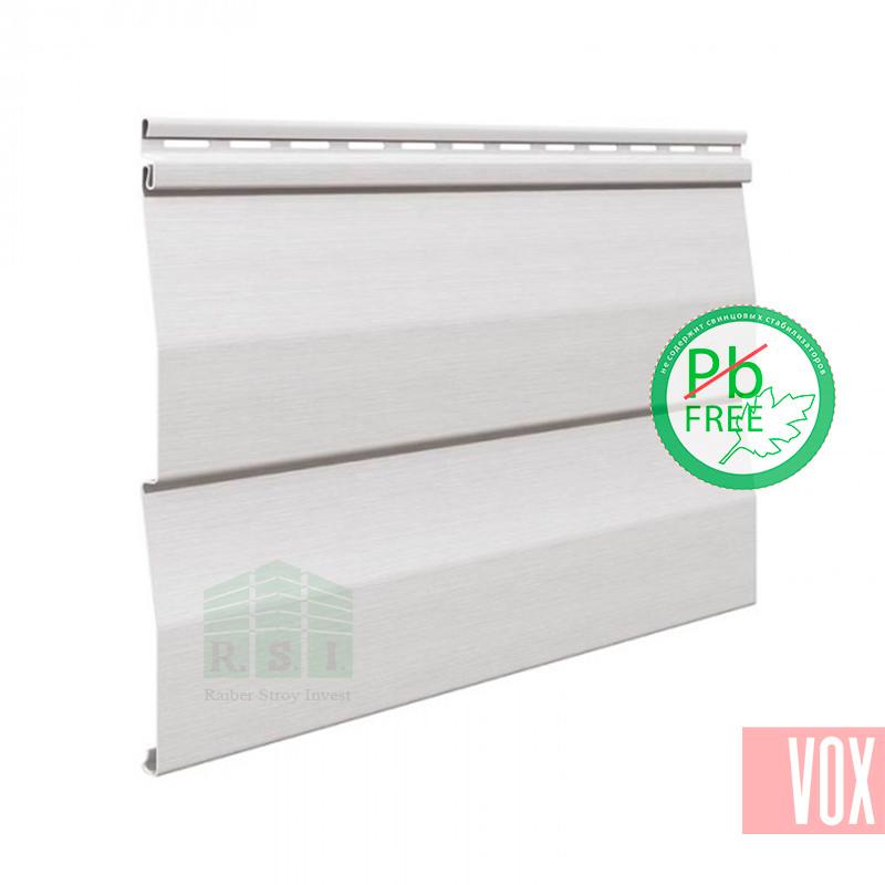 Сайдинг виниловый VOX SV-01 Unicolor (белый)