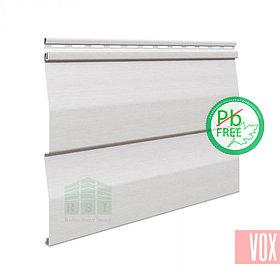 Сайдинг виниловый VOX SV-01 Unicolor (серый)