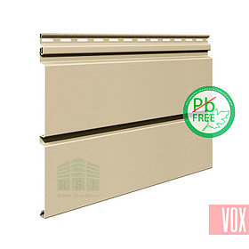 Сайдинг виниловый VOX SV-05 Vifront Unicolor (бежевый)