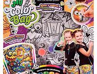 """Набор креативного творчества """"My Color Bag """" сумка-раскраска мини Совы с книгой""""(5шт)"""
