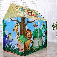Детская игровая палатка Зоопарк 93х70х103 см, фото 1