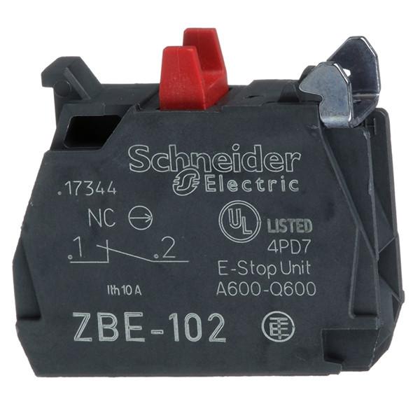 Блок-конт.с клемм.заж.под винт 1Н3 /ZBE102/
