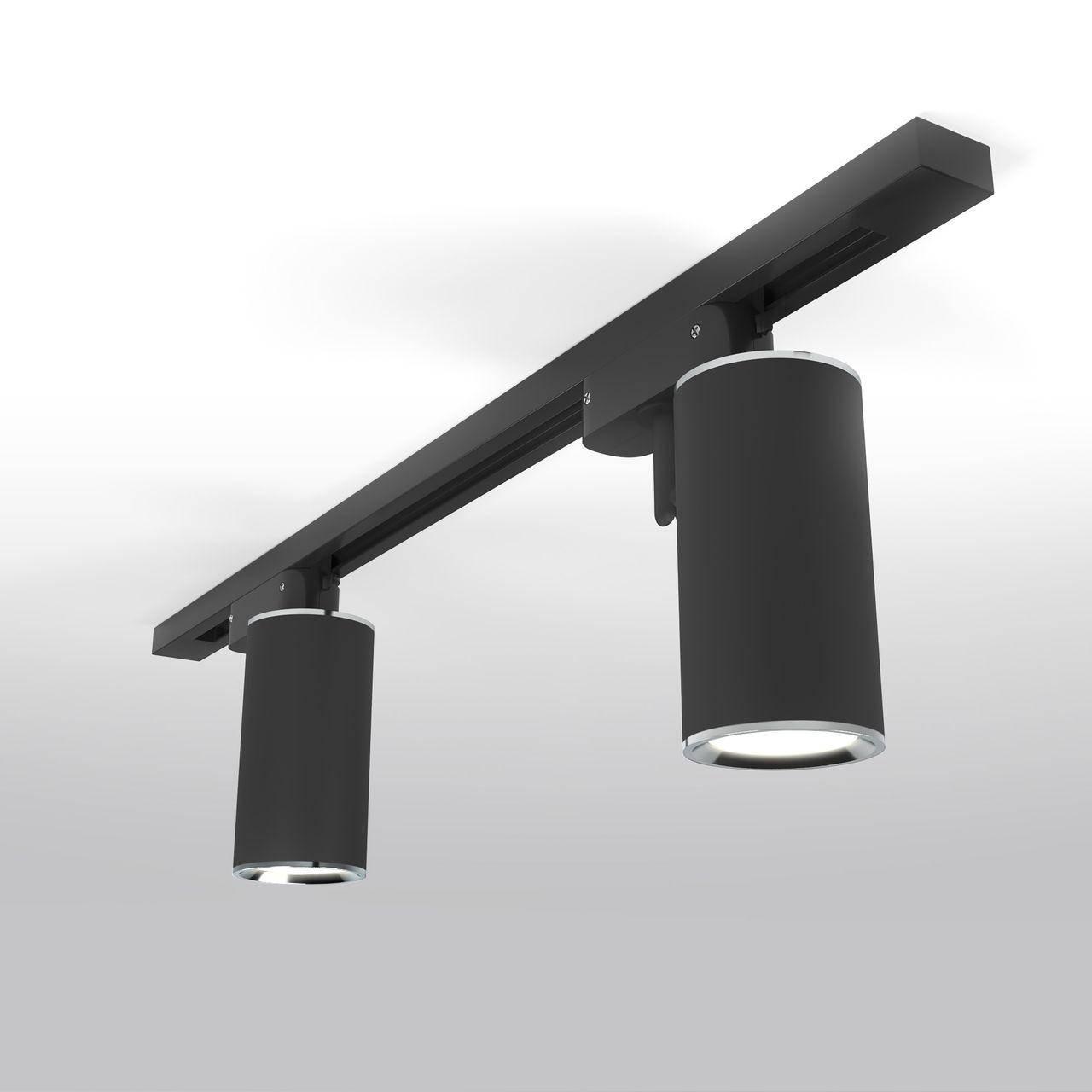 MRL 1002 / Светильник потолочный Rutero GU10 черный