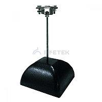 Держатель полоса/пруток для плоской кровли 300 мм, оцинк. с бетоном 3.5 кг, фото 1