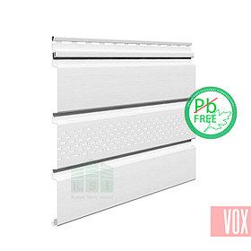 Софит виниловый VOX SV-07 Unicolor (с перфорацией, белый)