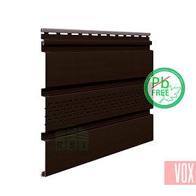 Софит виниловый VOX SV-07 Unicolor (с перфорацией, коричневый)
