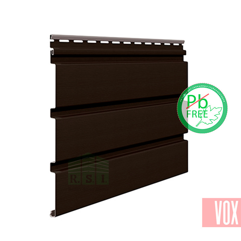 Софит виниловый VOX SV-08 Unicolor (без перфорации, коричневый)