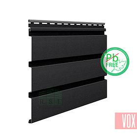 Софит виниловый VOX SV-08 Unicolor (без перфорации, графит)